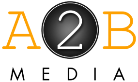 A2B Media Logo