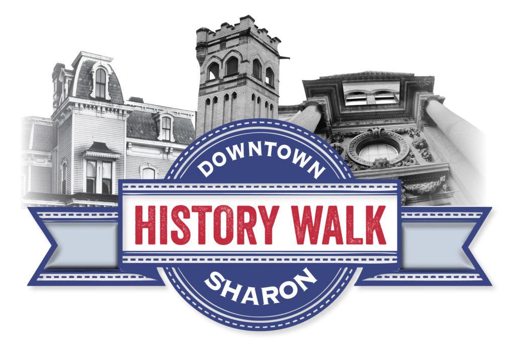 Downtown History Walk Sharon Logo