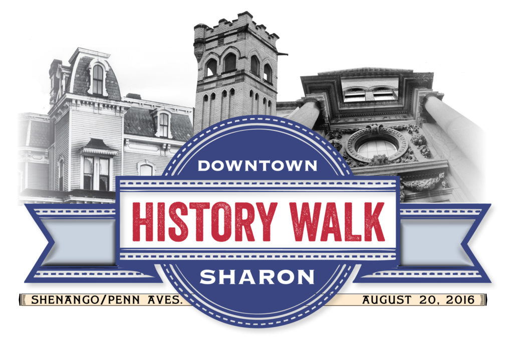 Downtown Sharon History Walk Logo