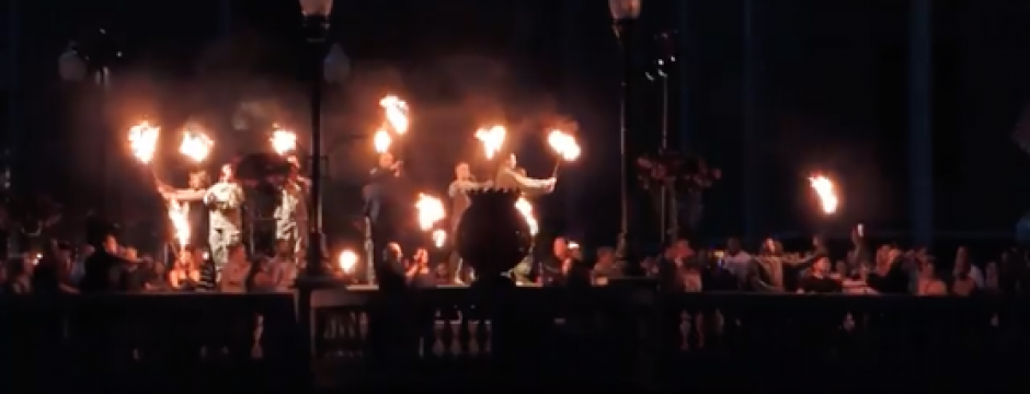 Screenshot of WaterFire Sharon 2016 Video