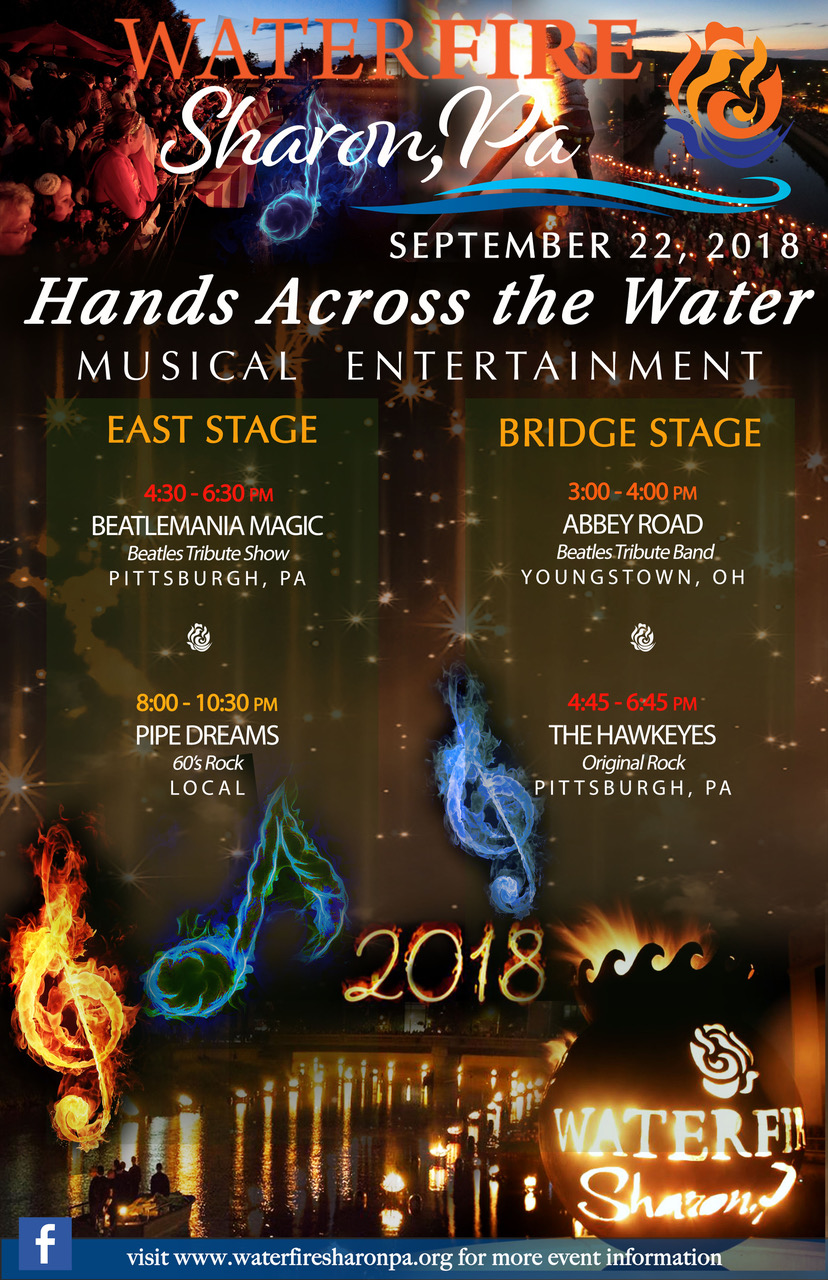 WaterFire, Sharon PA » September 22, 2018: Hands Across the